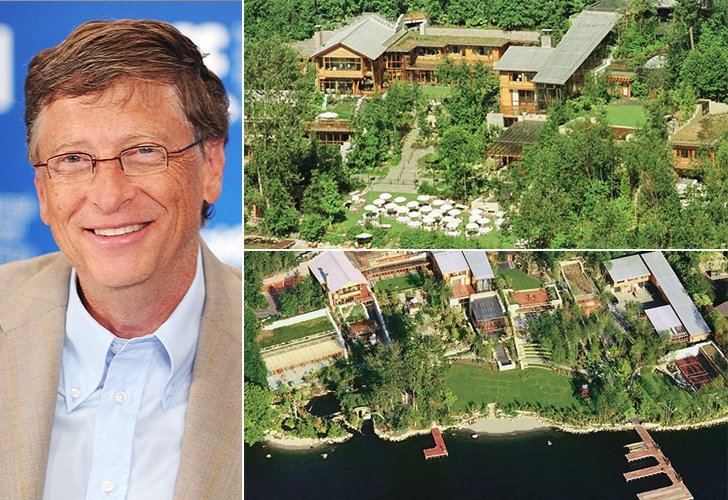 Homes of Hollywood Celebrities: Bill Gates Home in Medina ...