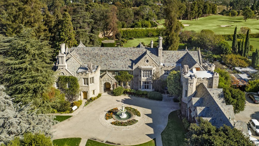 most expensive celebrity homes - refinance gold