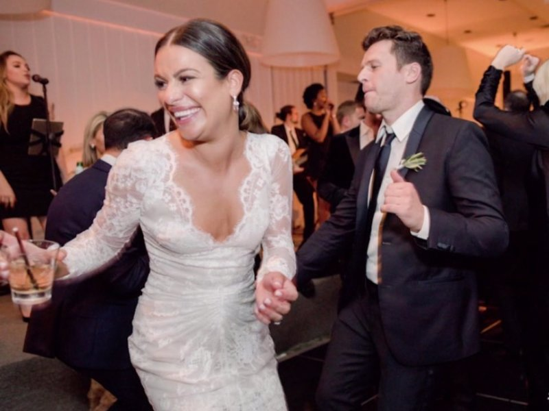 After Her Beautiful Nuptials, Lea Michele Has Us Dazed