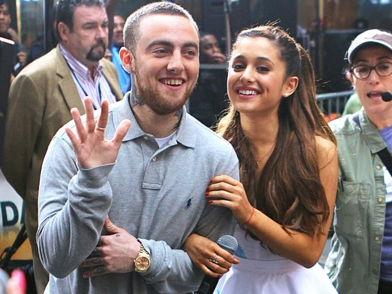 newest cfbda 2f8d2 This is How Ariana Grande Remembered Mac Miller on the ...